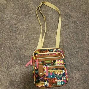 Lilly bloom purse adjustable straps